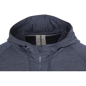 super.natural Essential Veste à capuche zippée Homme, navy blazer melange